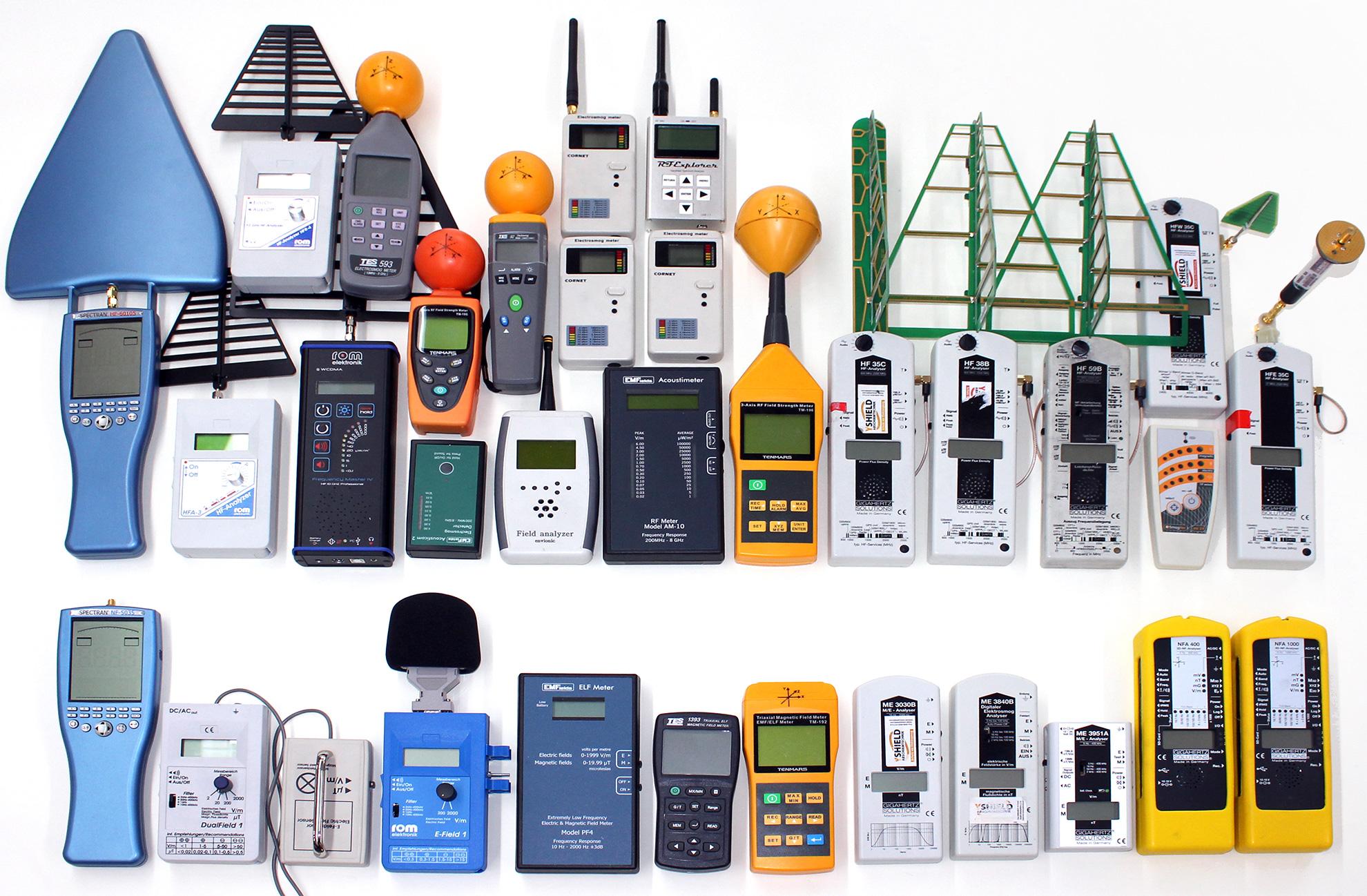 Tageskurs | Elektrosmog messen - mit Detektions-Messgeräten richtig umgehen