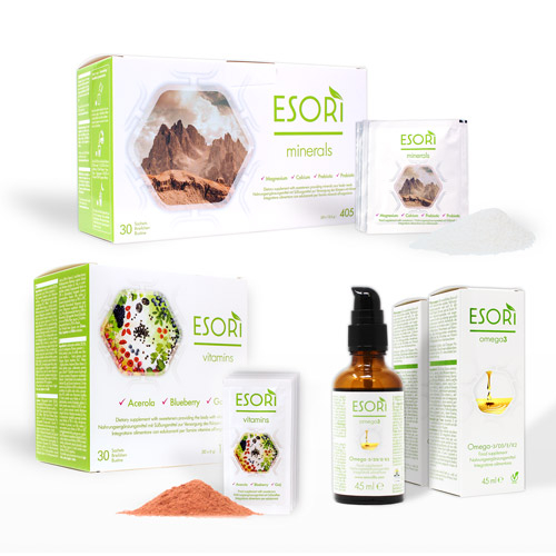 ESORI nutrition-pack
